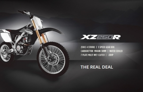 The 2015 Crossfire XZ250R Bike