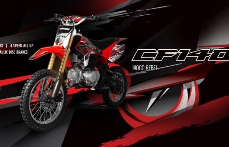 Crossfire CF140L Motorbike Dirt Bike