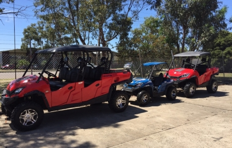 Crossfire 1100GT UTV and 200GT Side x Side 1