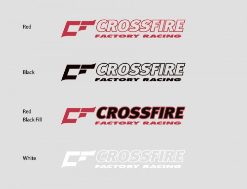 FREE Crossfire Factory Racing Sticker with all Motorbikes sold!