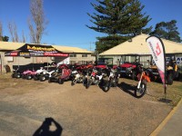Crossfire Bikes Adventure Dealer @ Hunter Valley Caravan, Camping, 4WD, Fish & Boat show 27th - 29th May 2016