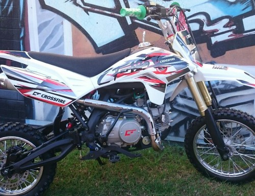 Crossfire CF125 ES Bike – Electric Start!