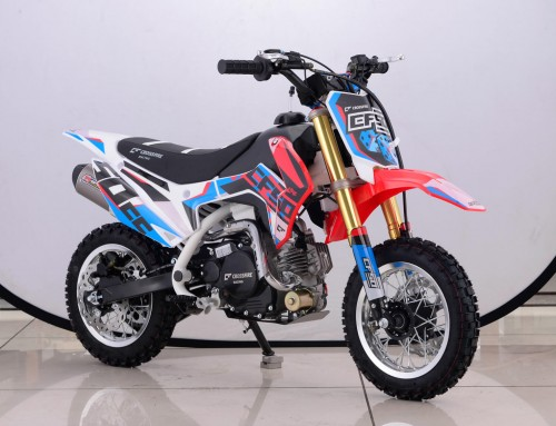Crossfire CF50 eligible for inclusion in the Junior Trail Bike and 50cc Auto Classes