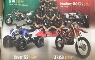 Crossfire Just BIkes December ad