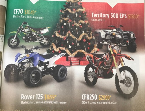 JUST BIKES Magazine – CROSSFIRE DECEMBER ISSUE AD on sale this Thursday 7 of December.