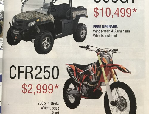 Crossfire advertising in Just Bikes Magazine March Edition.