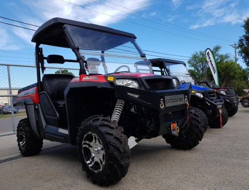 Ride Day during the weekend @ Crossfire Dealer Adventure Quads & Bikes in Thornton, NSW.