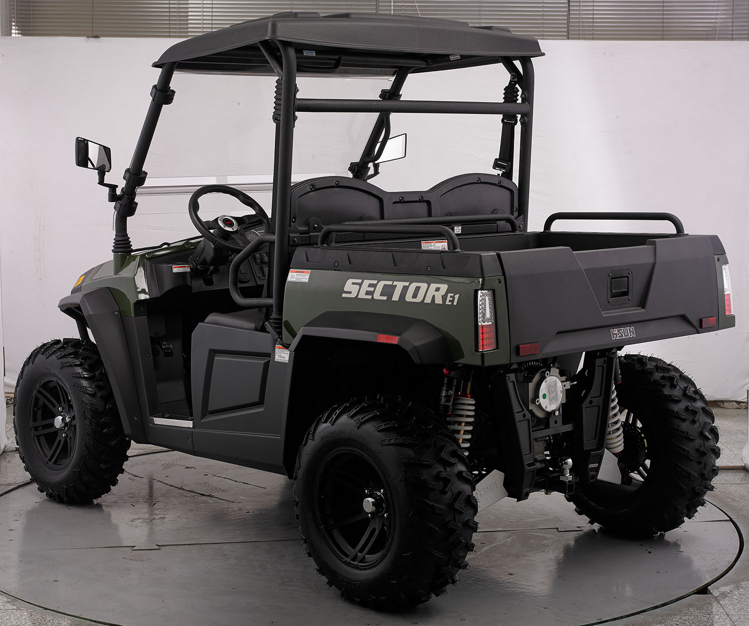 crossfire-e1-electric-atv-green-back-side-3