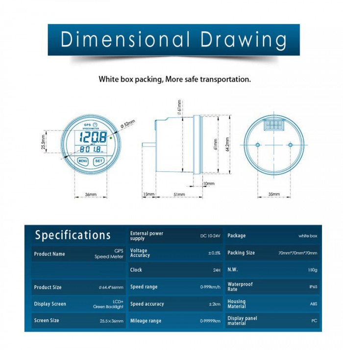 crossfire-gps-speedometer-dimensional-drawing