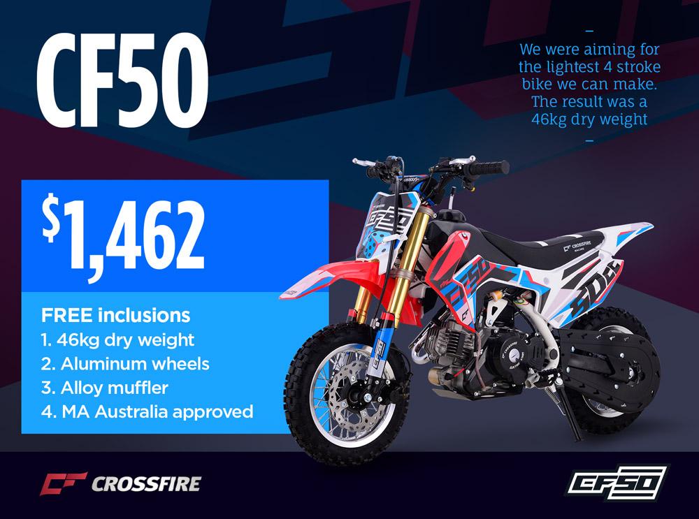 Crossfire Motorcycles - ATV, UTV and Motorbikes