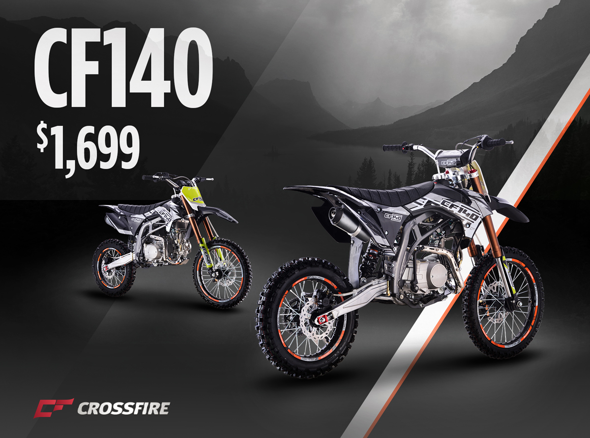 Crossfire Motorcycles - ATV, UTV and Motorbikes