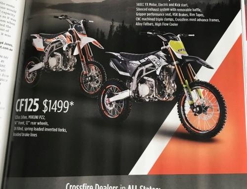 Crossfire Brand New Advertisement in MC Trader
