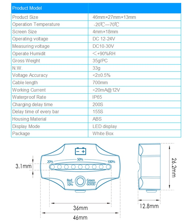 crossfire-battery-meter-specifications