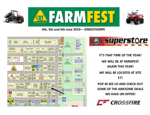 Crossfire @ FarmFest, Toowoomba  Next week: Tuesday 4 to Thursday 6 June