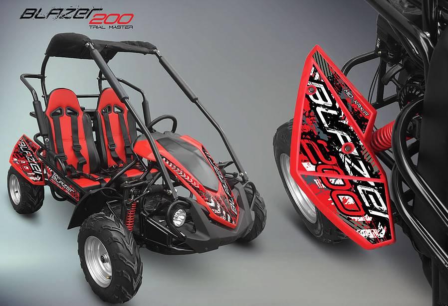 crossfire-blazer-200r-red-go-kart