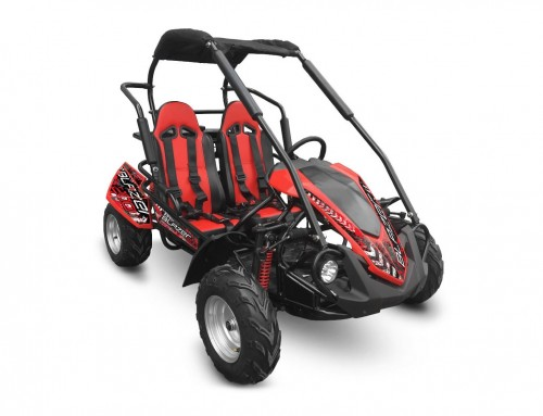 NEW Larger, Bigger, Wider, Taller CROSSFIRE Go-Kart:  BLAZER 200R