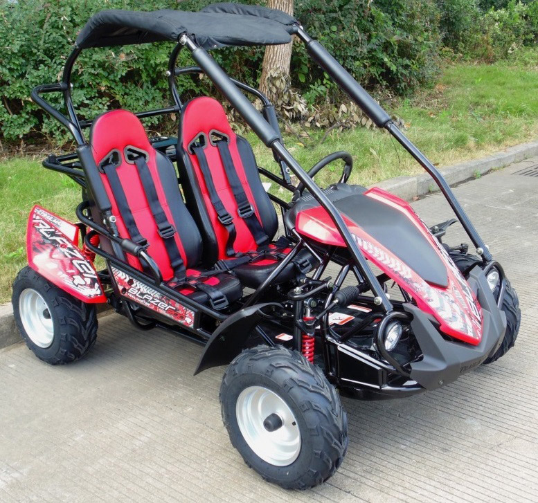 crossfire-go-kart-blazer-200r-red-front-side