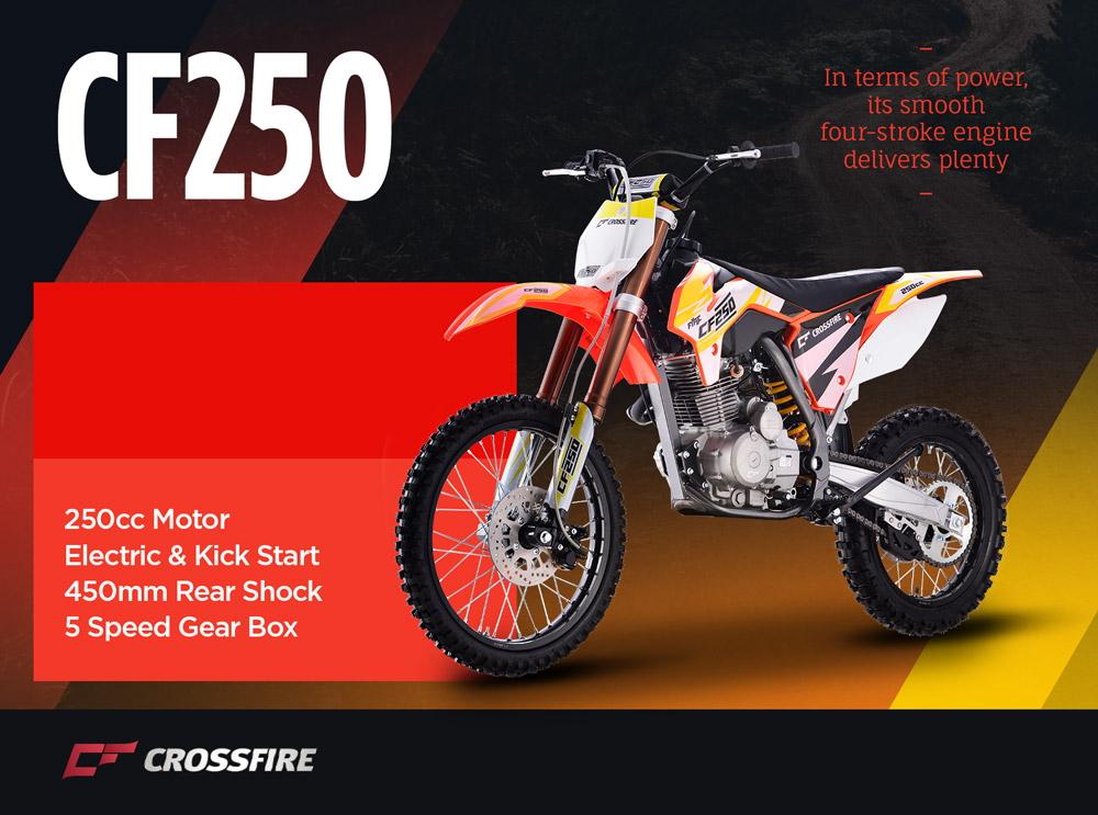 Crossfire CF250 Motorbike