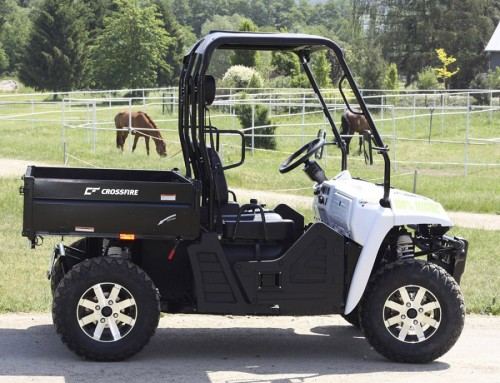 BRAND NEW Crossfire E-5 Electric UTV  Release