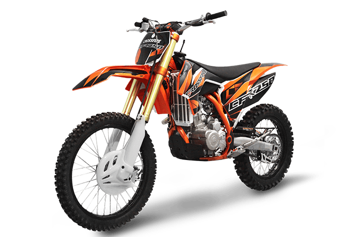 Yamaha Dirt Bike Black